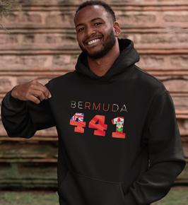 Bermuda 441 Men's Pullover Hoodie