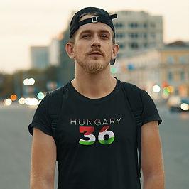 Hungary 36 Mens T-Shirt
