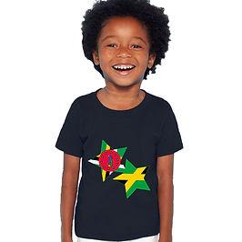Dominica & Jamaica Childrens T-Shirt