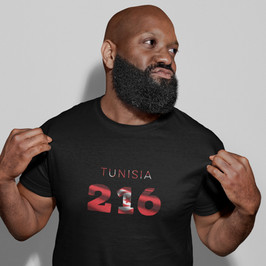 Tunisia 216 Mens T-Shirt