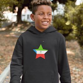 Equatorial Guinea Childrens Hoodie
