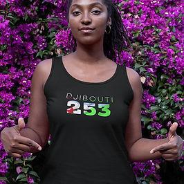 Djibouti 253 Womens Vest