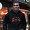 Kenya Mens Black Hoodie