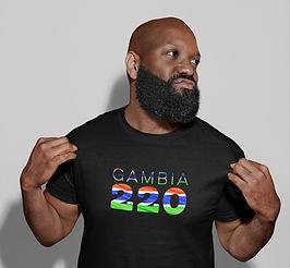 Gambia 220 Mens T-Shirt