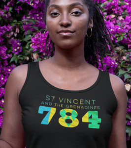 St Vincent and the Grenadines 784 Womens Vest