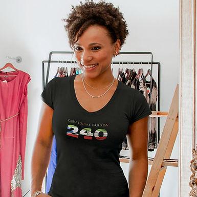 Equatorial Guinea 240 Women's T-Shirt