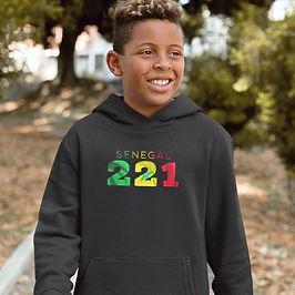 Senegal Childrens Hoodie