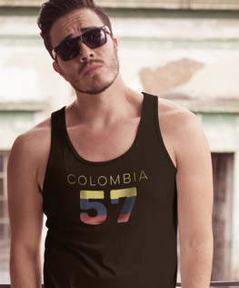Colombia 57 Mens Tank Top