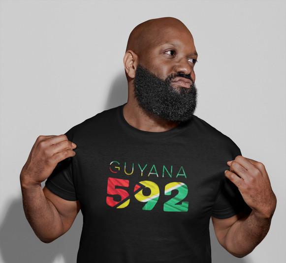 Guyana 592 Mens T-Shirt