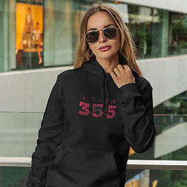 Albania 355 Womens Pullover Hoodie