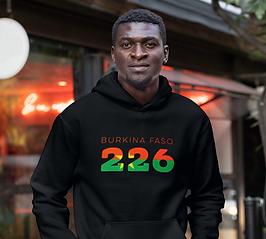 Burkina Faso 226 Mens Pullover Hoodie