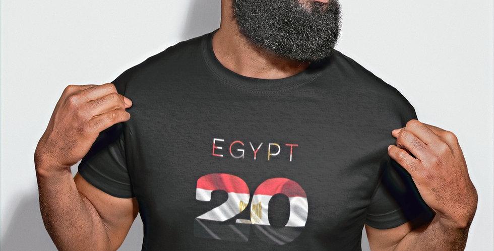 Egypt Mens Black T-Shirt