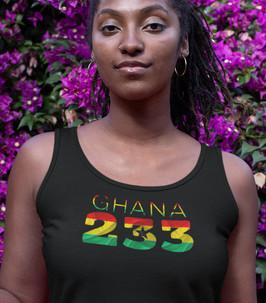 Ghana 233 Womens Vest
