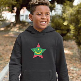 Mauritania Childrens Hoodie