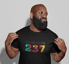 Cameroon 237 Mens T-Shirt