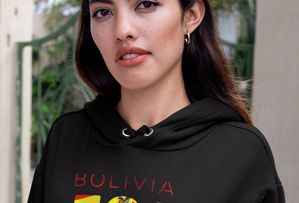 Bolivia Womens Pullover Hoodie