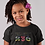 Childrens Central African Republic Black T-Shirt