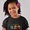 Childrens Black Benin T-Shirt