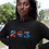 Democratic Republic of Congo Womens Black Hoodie