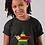 Childrens Zimbabwe Black T-Shirt