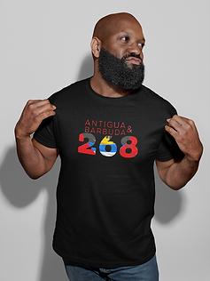 Antigua & Barbuda 268 Mens T-Shirt