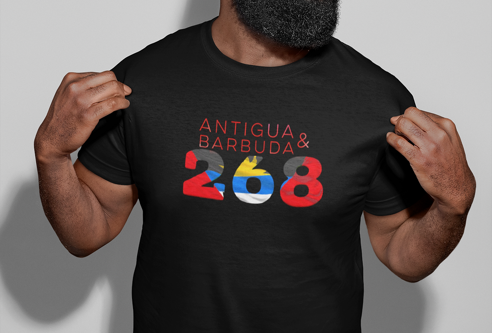 Antigua & Barbuda Mens T-Shirt