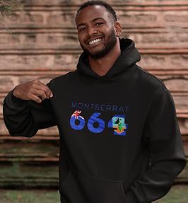 Montserrat 664 Mens Pullover Hoodie