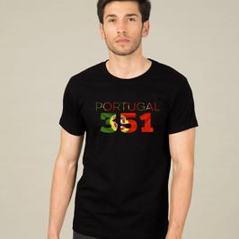 Portugal 351 Mens T-Shirt