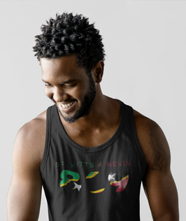 St Kitts & Nevis 869 Mens Tank Top