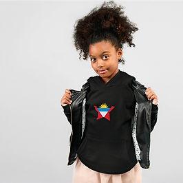 Antigua & Barbuda Childrens Hoodie