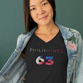 Philippines 63 Womens T-Shirt