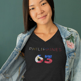 Philippines 63 Womens T-Shirt