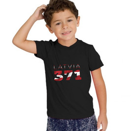 Latvia Childrens T-Shirt