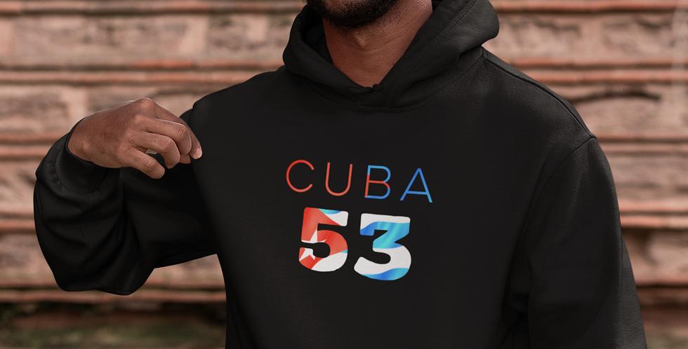 Cuba Mens Black Hoodie