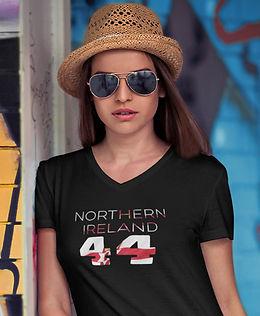 Northern Ireland 44 Womens T-Shirt