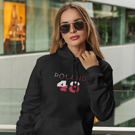 Poland 48 Womens Pullover Hoodie