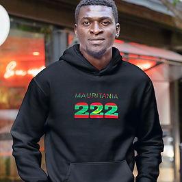 Mauritania 222 Men's Pullover Hoodie