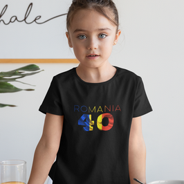 Romania 40 Childrens T-Shirt