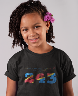Democratic Republic of Congo Childrens T-Shirt