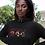 Angola Womens Black Hoodie