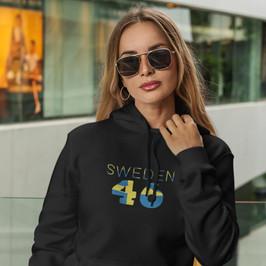 Sweden 46 Womens Pullover Hoodie