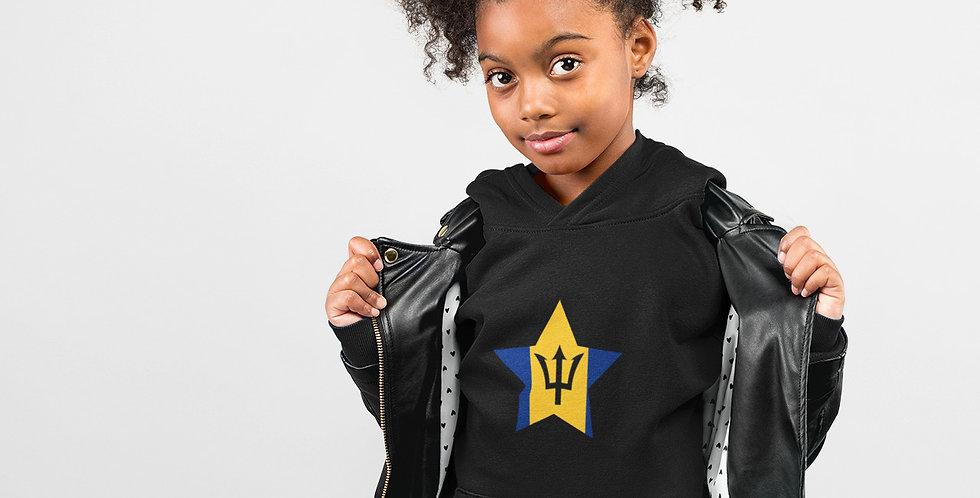 Barbados Childrens Black Hoodie
