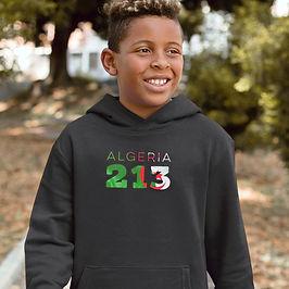 Algeria Childrens Hoodie