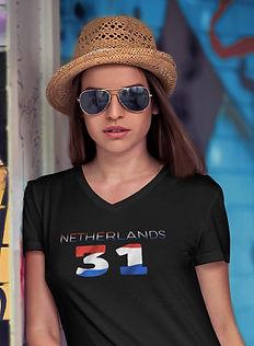 Netherlands 31 Womens T-Shirt