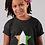 Childrens Cote d'Ivoire Black T-Shirt