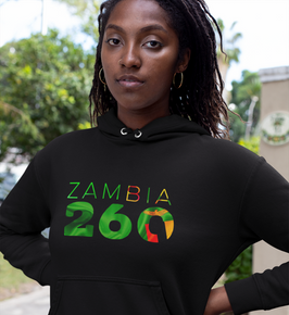 Zambia 260 Women's Pullover Hoodie