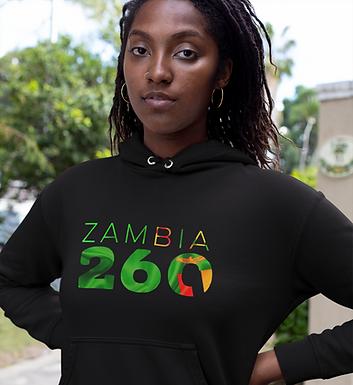 Zambia 260 Women's Pullover Hoodie