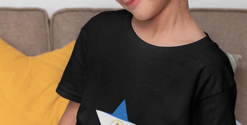 Childrens Nicaragua Black T-Shirt