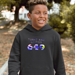 Turks and Caicos Islands Childrens Hoodie