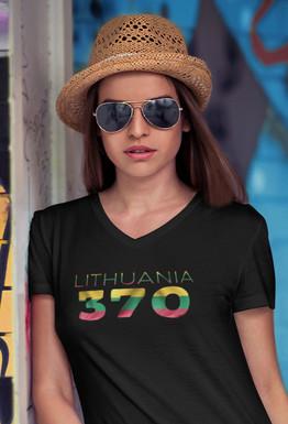 Lithuania 370 Womens T-Shirt
